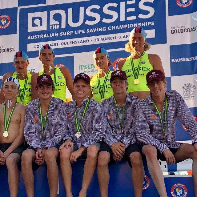 U17 Male Surf Team | The Aussies 2019