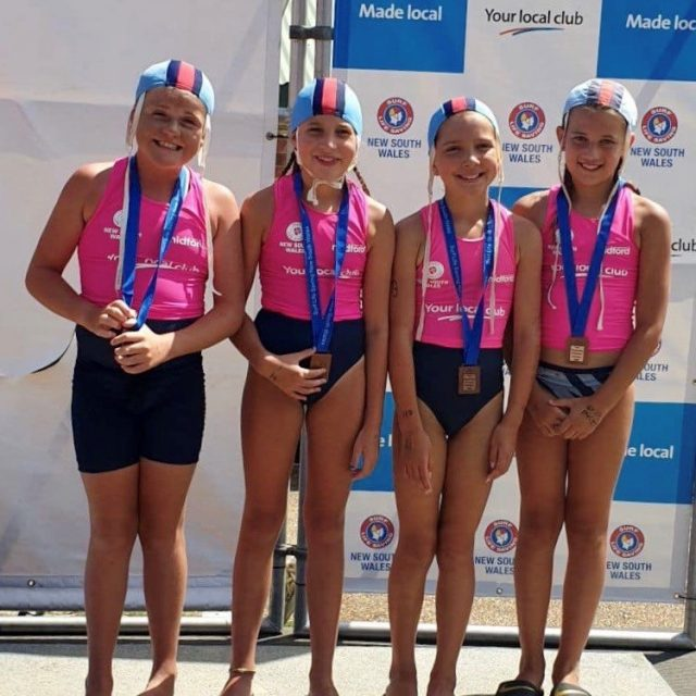 Bronze - U10 Girls Swim